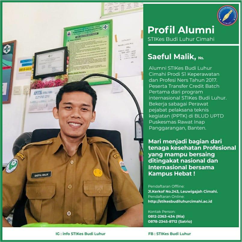 Saeful Malik.,S.Kep.,Ners